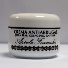 Crema de Cara Antiarrugas. Envase 100 ml