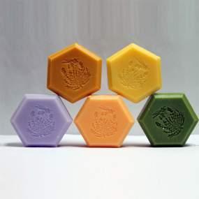 Jabones Vegetales Hexagonales